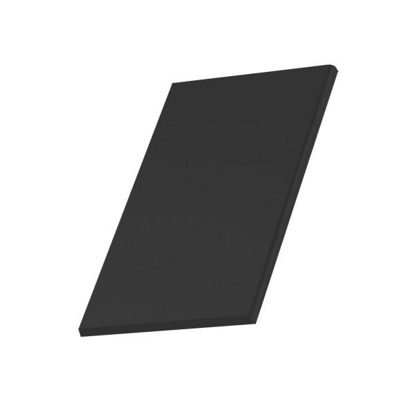 Half Double Roll - Left hand verge tile finishing half tile
