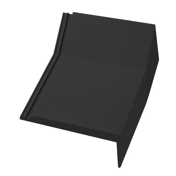 Internal Mansard Tile - Right Hand Cloaked Verge
