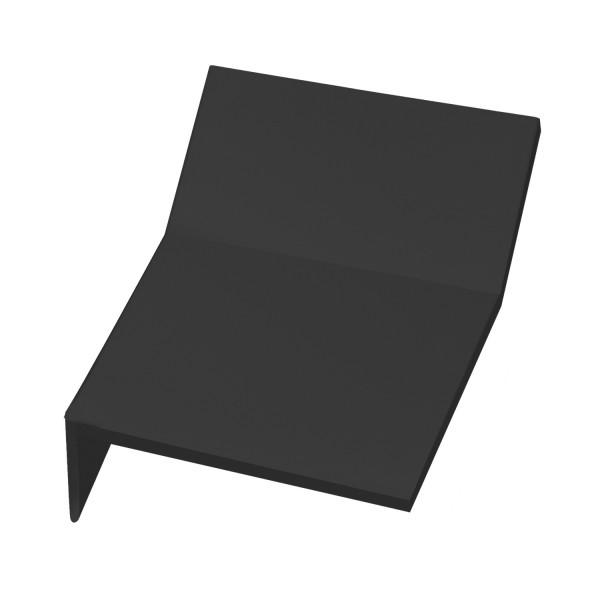 Internal Mansard Tile - Left Hand Cloaked Verge