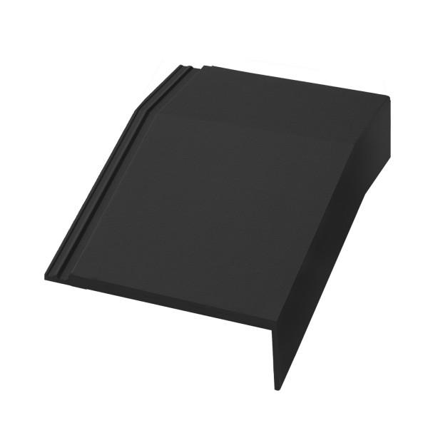 External Mansard Tile - Right Hand Cloaked Verge