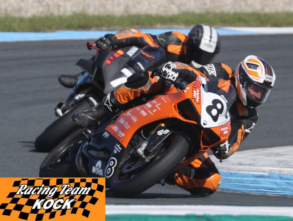 Ducati motorcycle racing back on track!