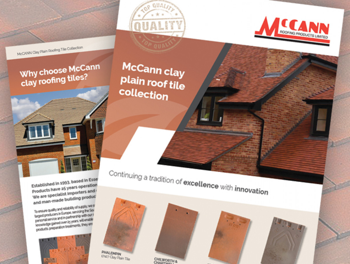 New Clay Plain Roof Tile Brochure Now Available